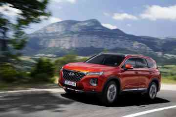 Totwinkelwarner für den Hyundai Santa Fe