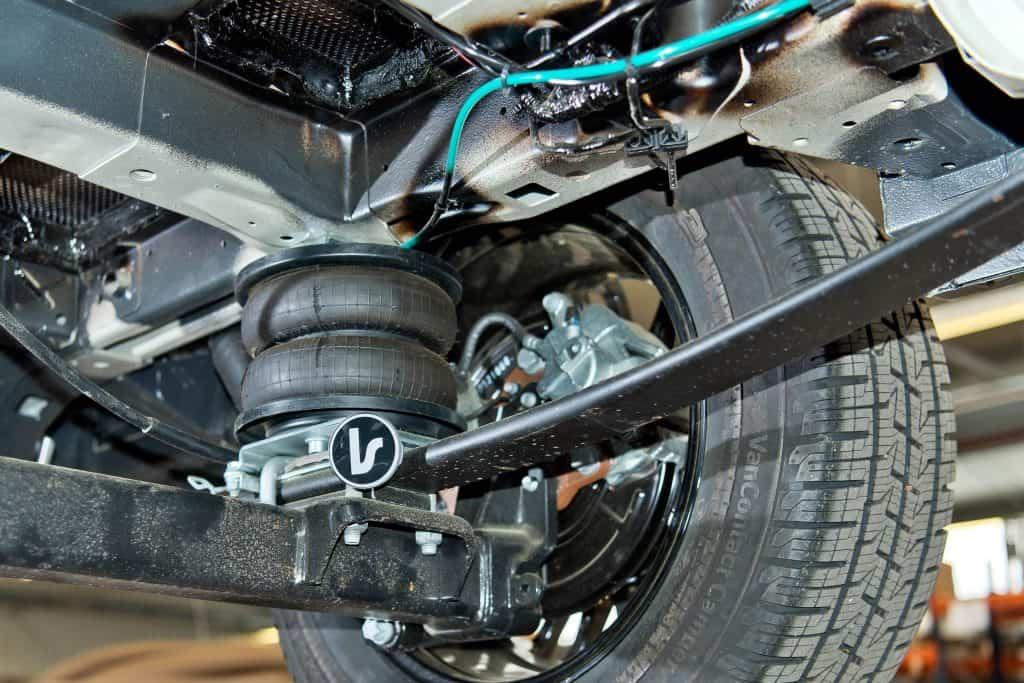Für den Avanti hält La Strada eine Luftfederung bereit.