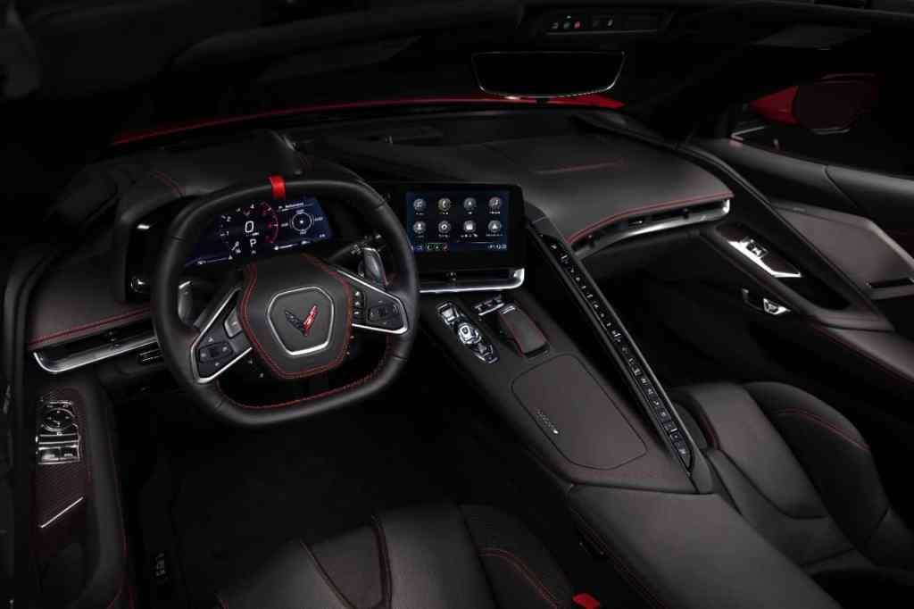 Neue Corvette Stingray, Innenraum