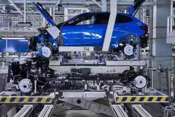 Produktion des BMW 1er im Werk Leipzig.