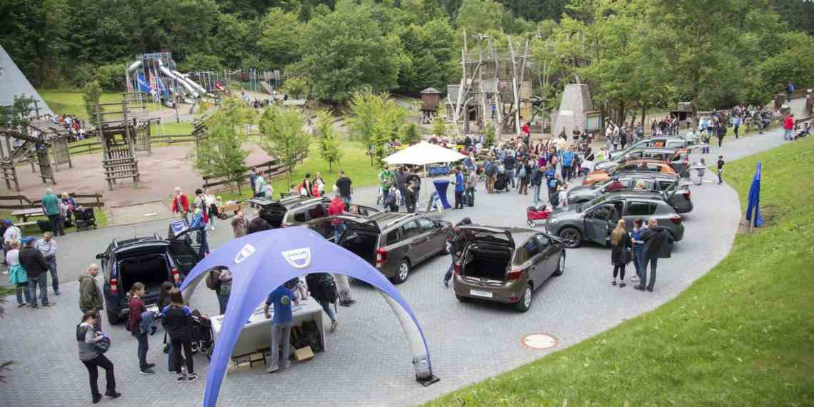 Dacia Picknick am 21. Juli im Sauerland