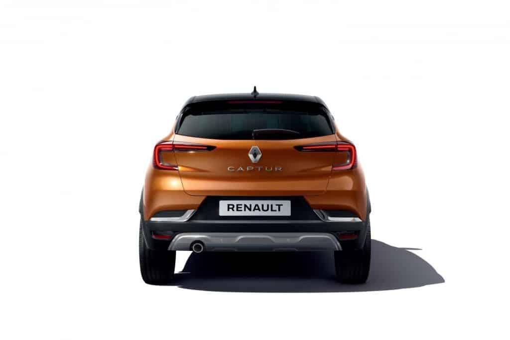 Renault Captur 2020, Heck