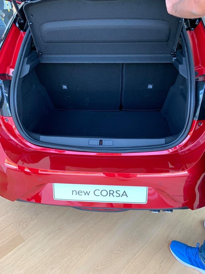 Opel Corsa 2020, Kofferraum