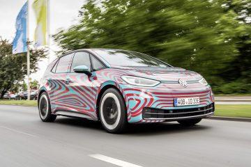 Der neue VW ID.3 – bis zur IAA noch im Camouflage-Look
