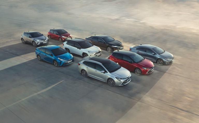 Hybridmodelle von Toyota.