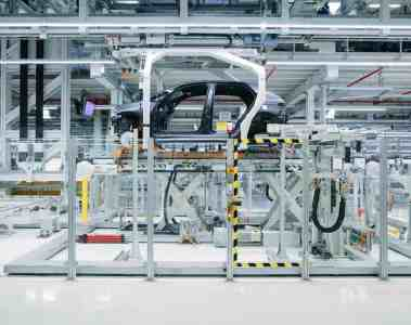 Vorserienproduktion des ID 3 im VW-Werk Zwickau.