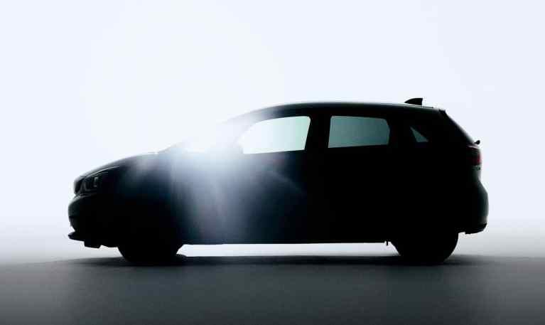 Honda will mit Foto neugierig auf den neuen Jazz machen