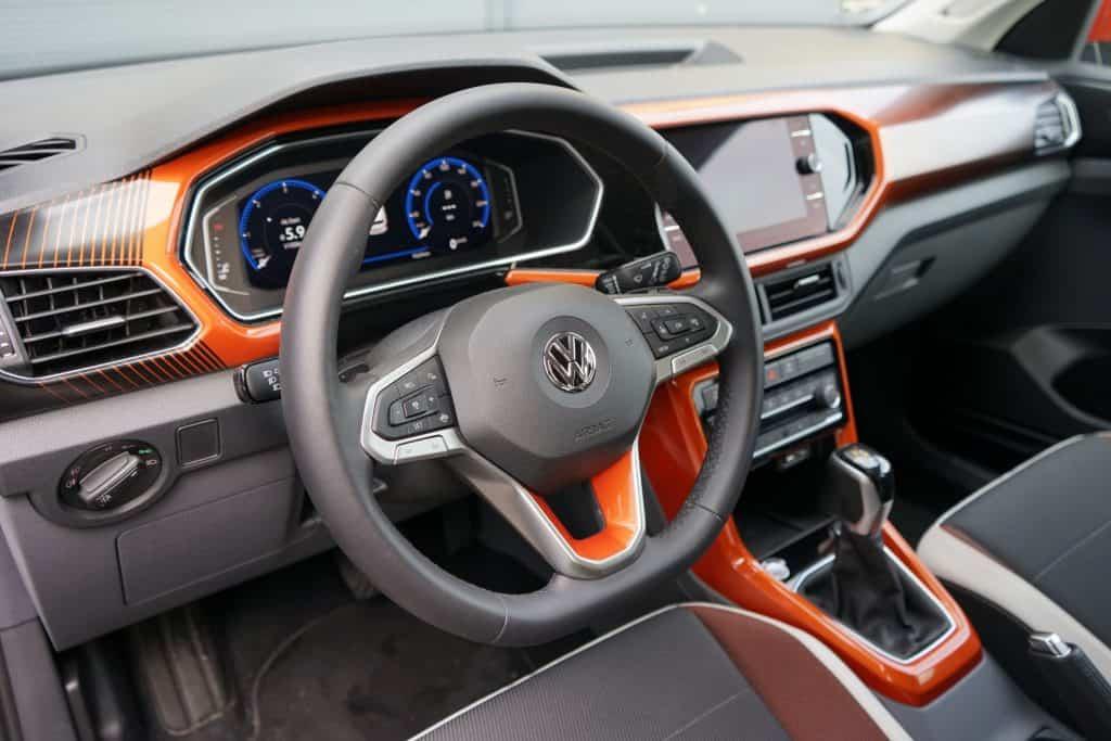 VW T-Cross, Innenraum