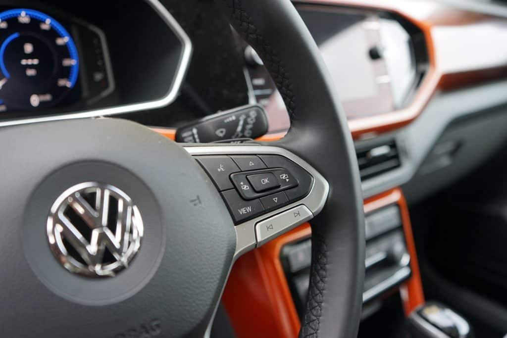 VW T-Cross Lenkrad