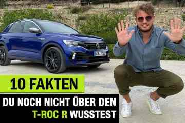 VW T-Roc R, Jan Weizenecker