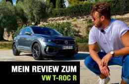 VW T-Roc R, Jan Weizenecker