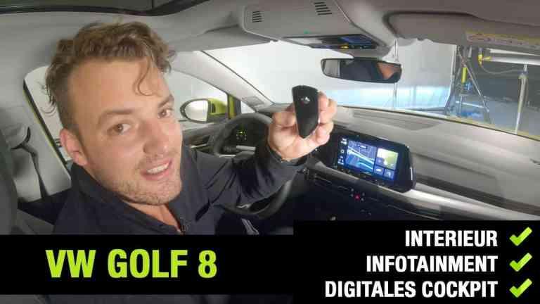 2020 VW Golf 8 - Interieur, Jan Weizenecker