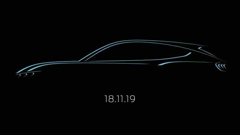 Ford zeigt das neue, vom Mustang inspirierte, voll-elektrische SUV