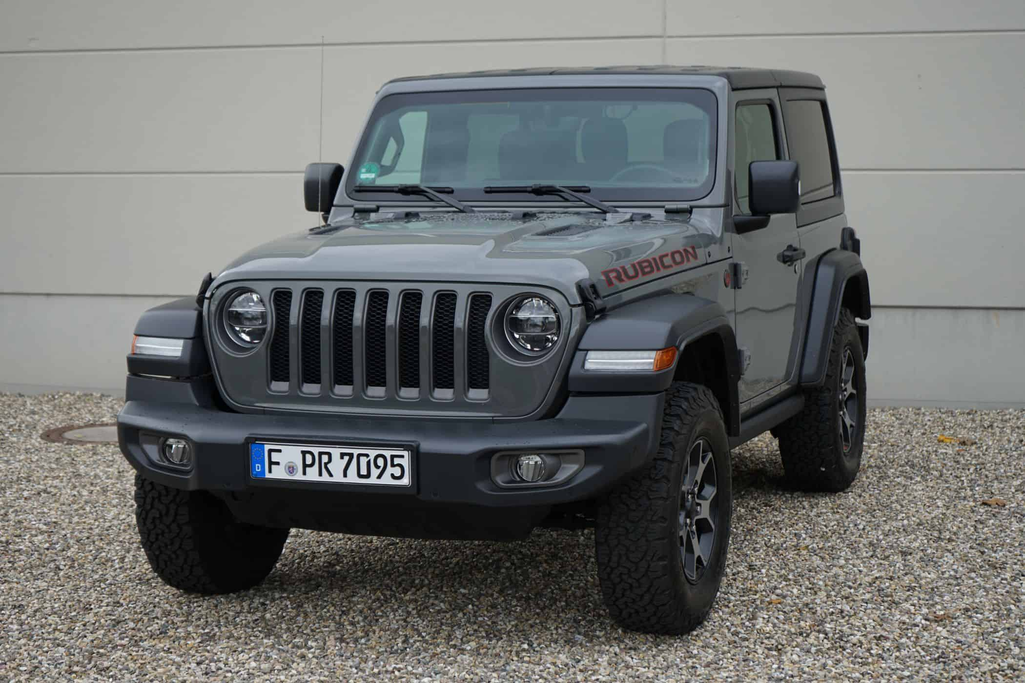 2020 Jeep Wrangler Rubicon Exterior and Interior