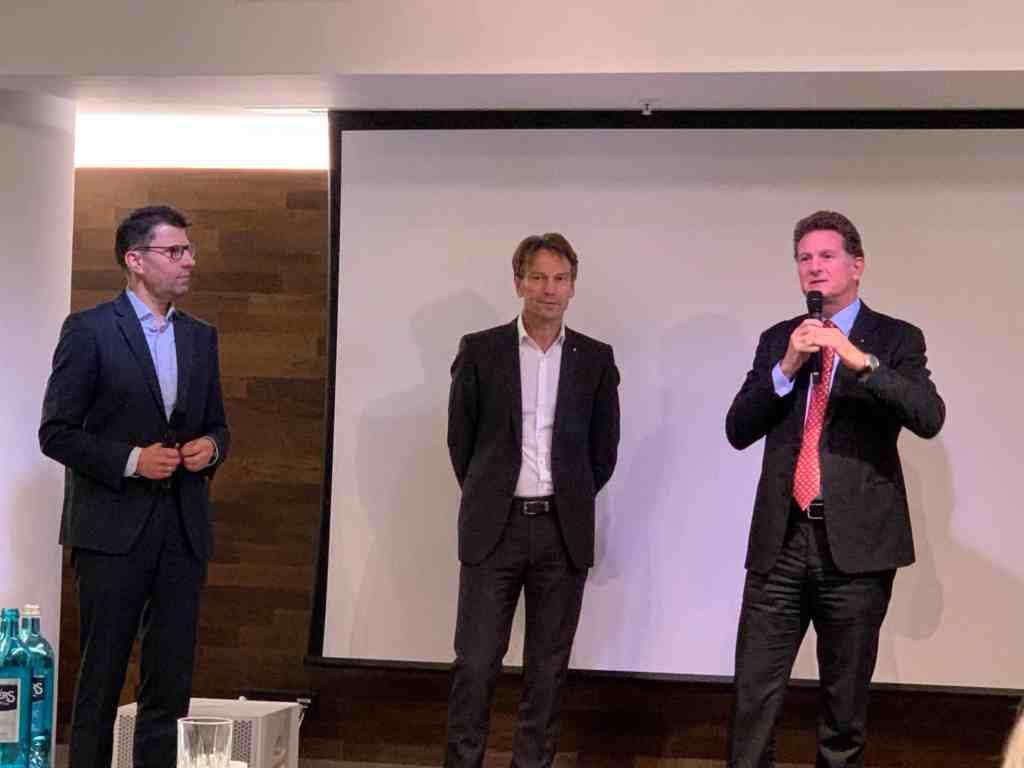 Martin Zimmermann, Gilles Normand, Uwe Hochgeschurtz