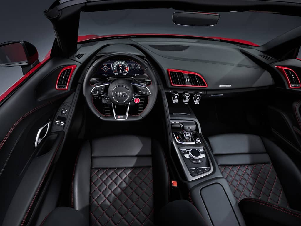 Audi R8 5.2 FSI Spyder RWD.