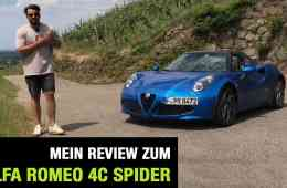 2019 - Alfa Romeo 4C Spider, Jan Weizenecker