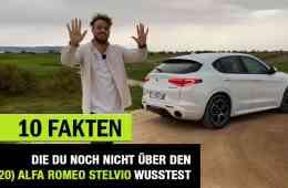 10 Fakten, die DU über den (2020) Alfa Romeo Stelvio wissen solltest!