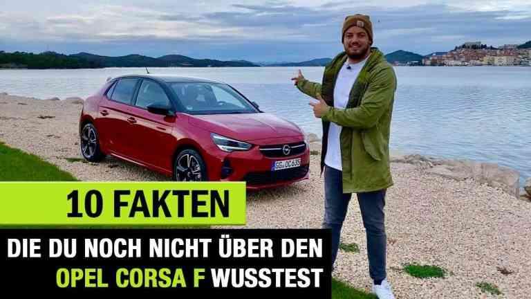 10 Fakten, die DU über den (2020) Opel Corsa F wissen solltest, Jan weizenecker