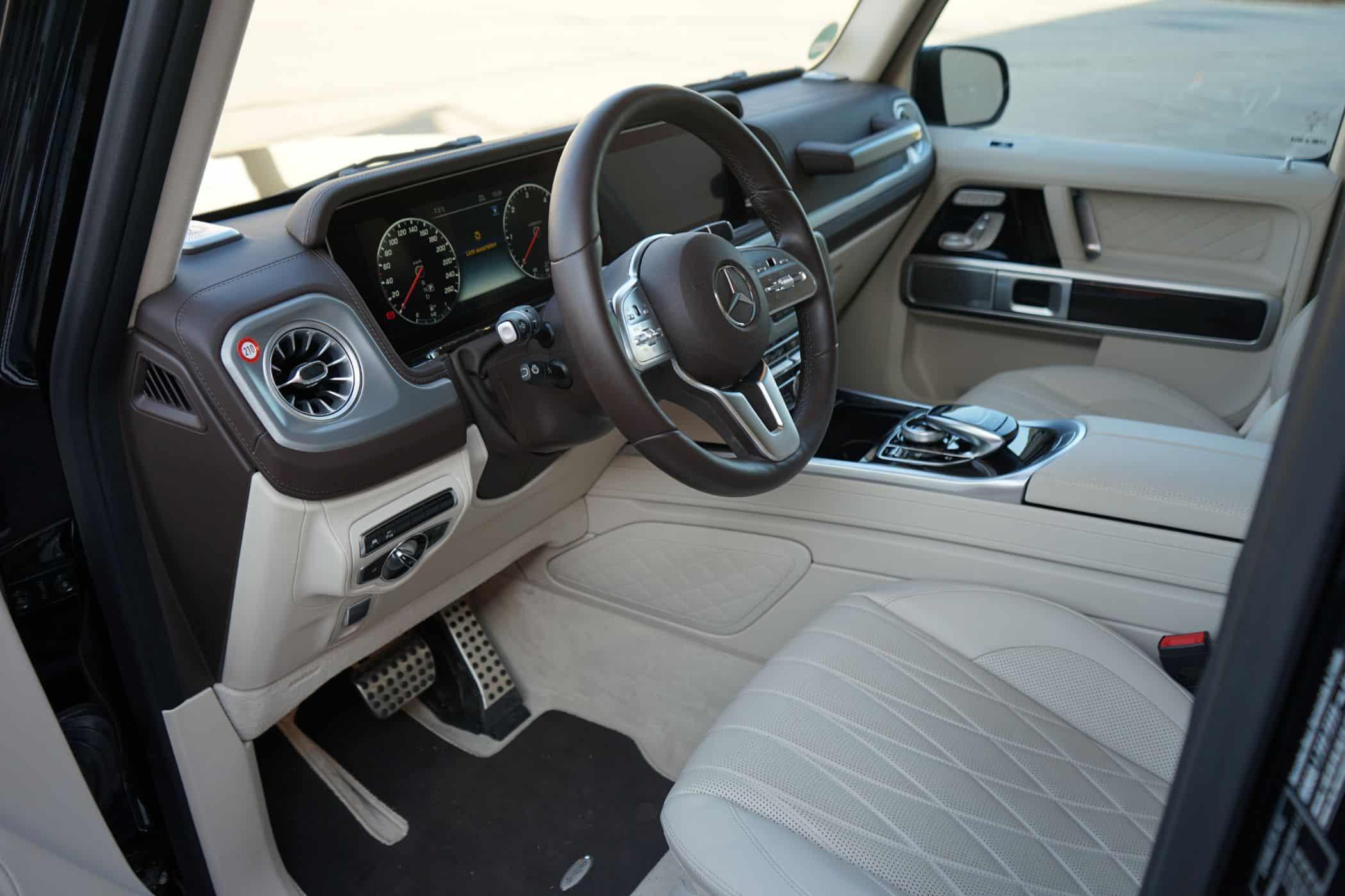 Mercedes G-350 Diesel: Luxus-Hardcore-SUV