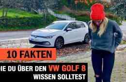 10 Fakten, die DU über den (2020) VW Golf 8 wissen solltest!