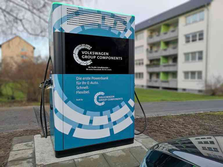 Schnellladesäulen in Wolfsburg aufgestellt