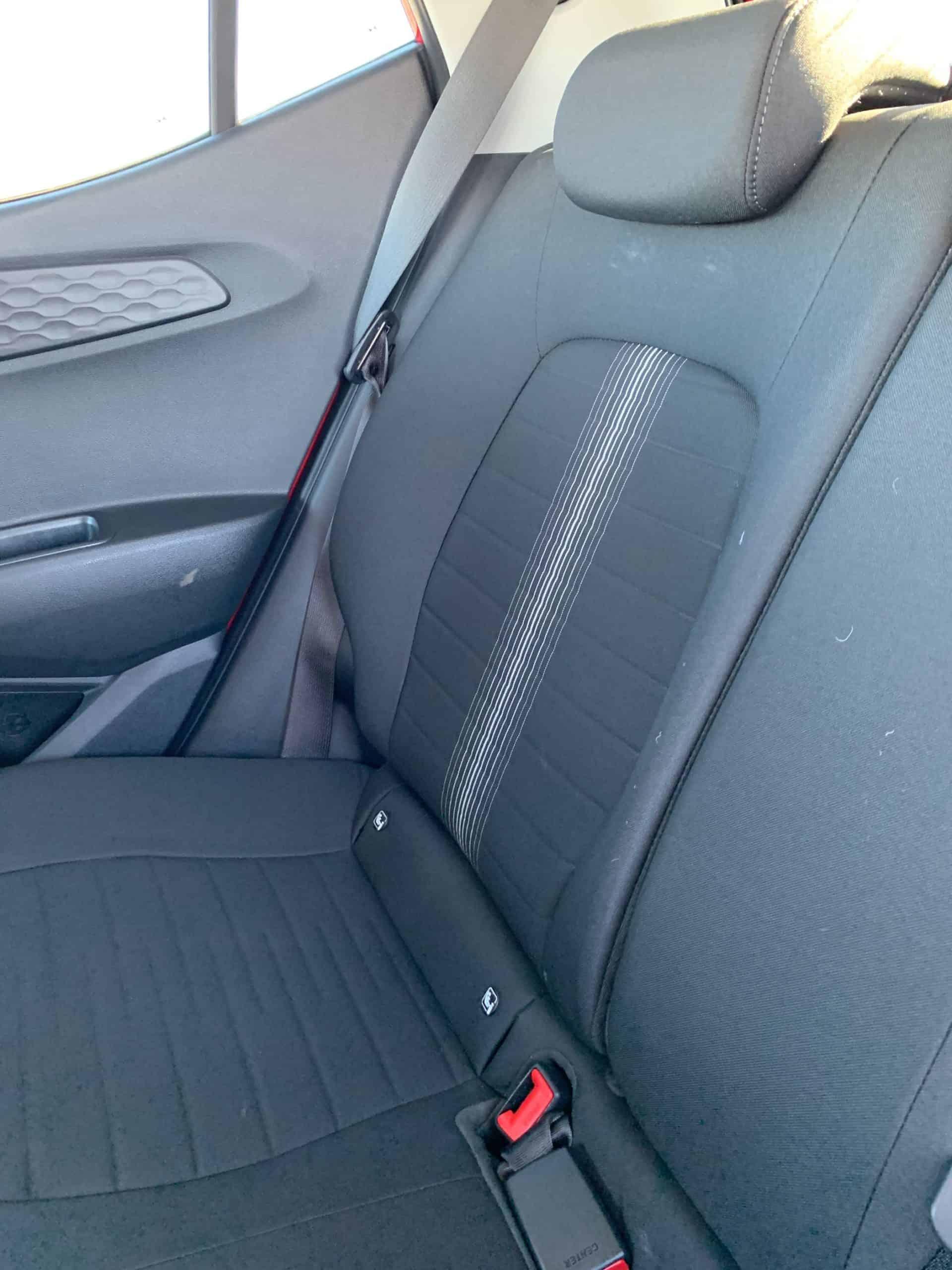 Hyundai i10, Sitze