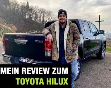 """Toyota Hilux """"Comfort"""" Double Cab (150 PS) -Fahrbericht im Video"""