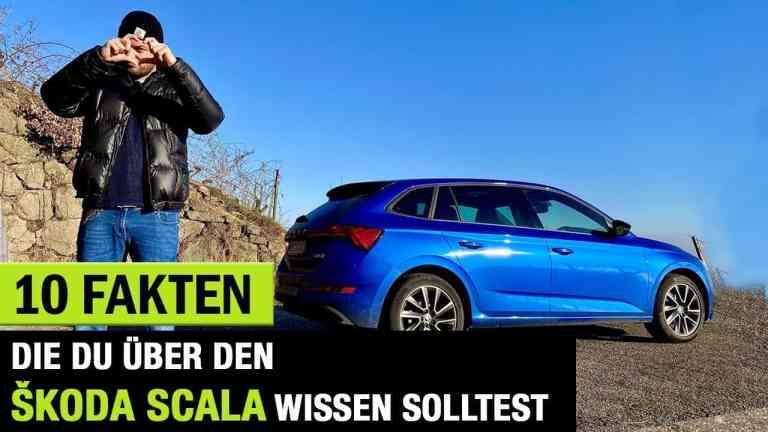 10 Fakten, die DU über den Škoda Scala (2020) wissen solltest!, Ja Weizenecker