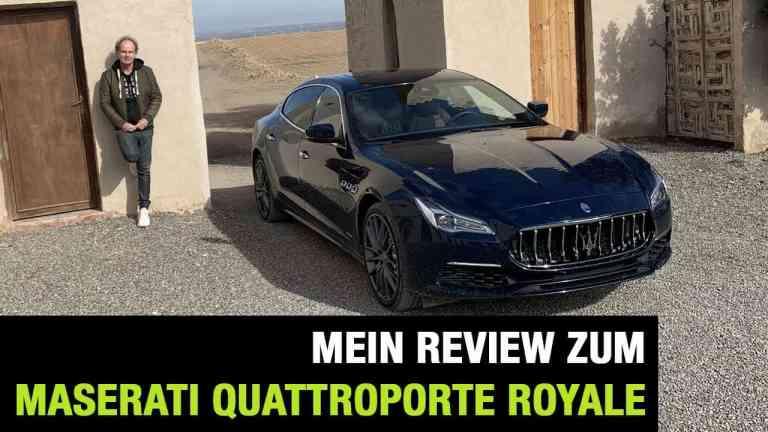 "Maserati Quattroporte Royale (300 PS) Edition ""One of 100"""