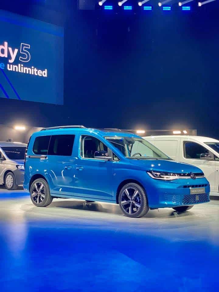 Der #VW #Caddy5 feierte #Weltpremiere in #Düsseldorf