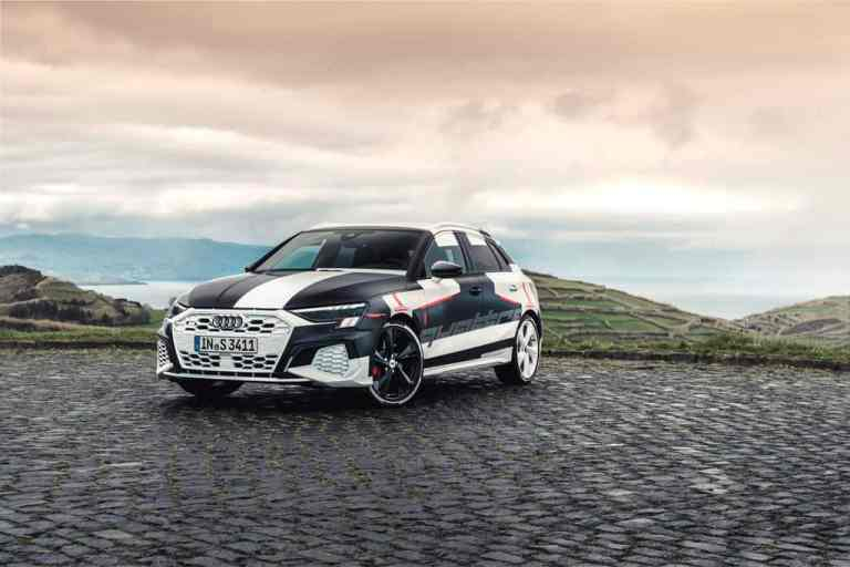 Erlkönig Audi A3 Sportback.