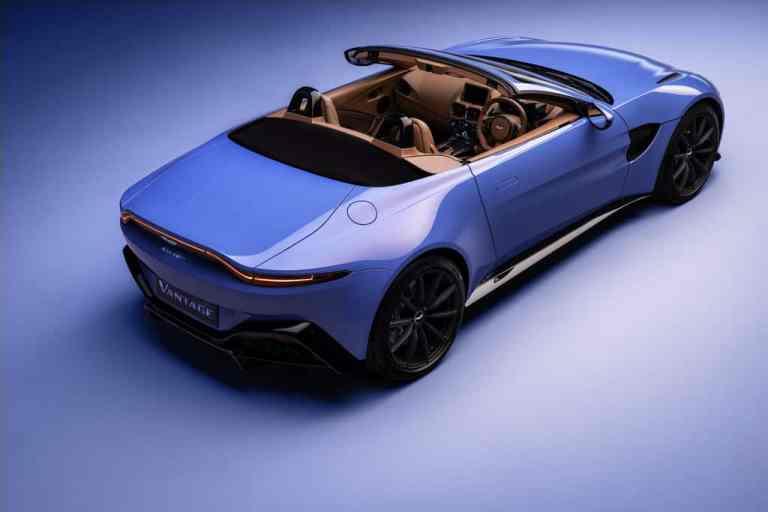 Aston Martin open air