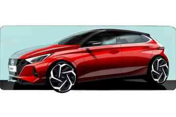 Erste Skizzen des neuen Hyundai i20