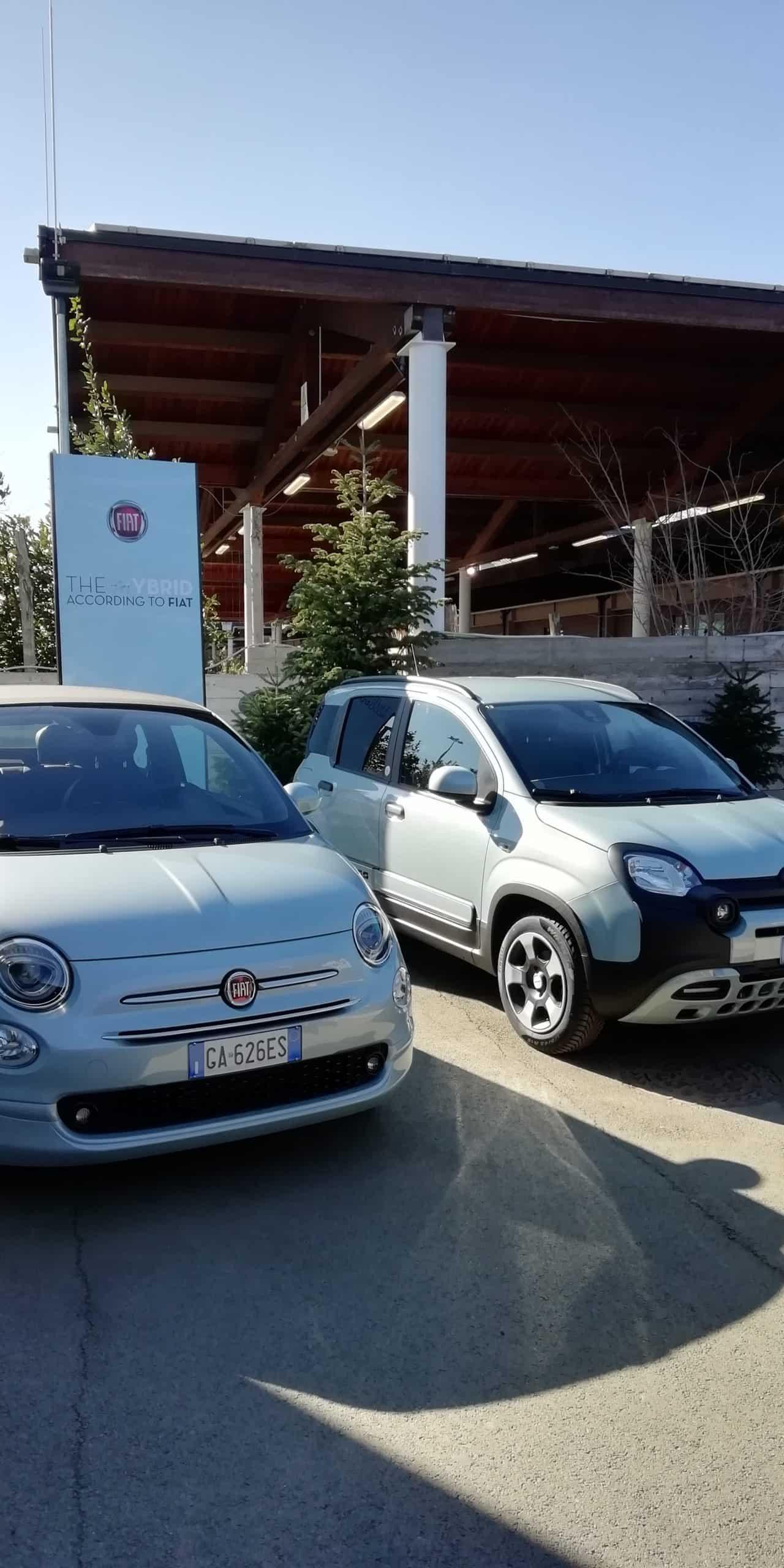 Zwei Fiat - Greenhorns unter Strom