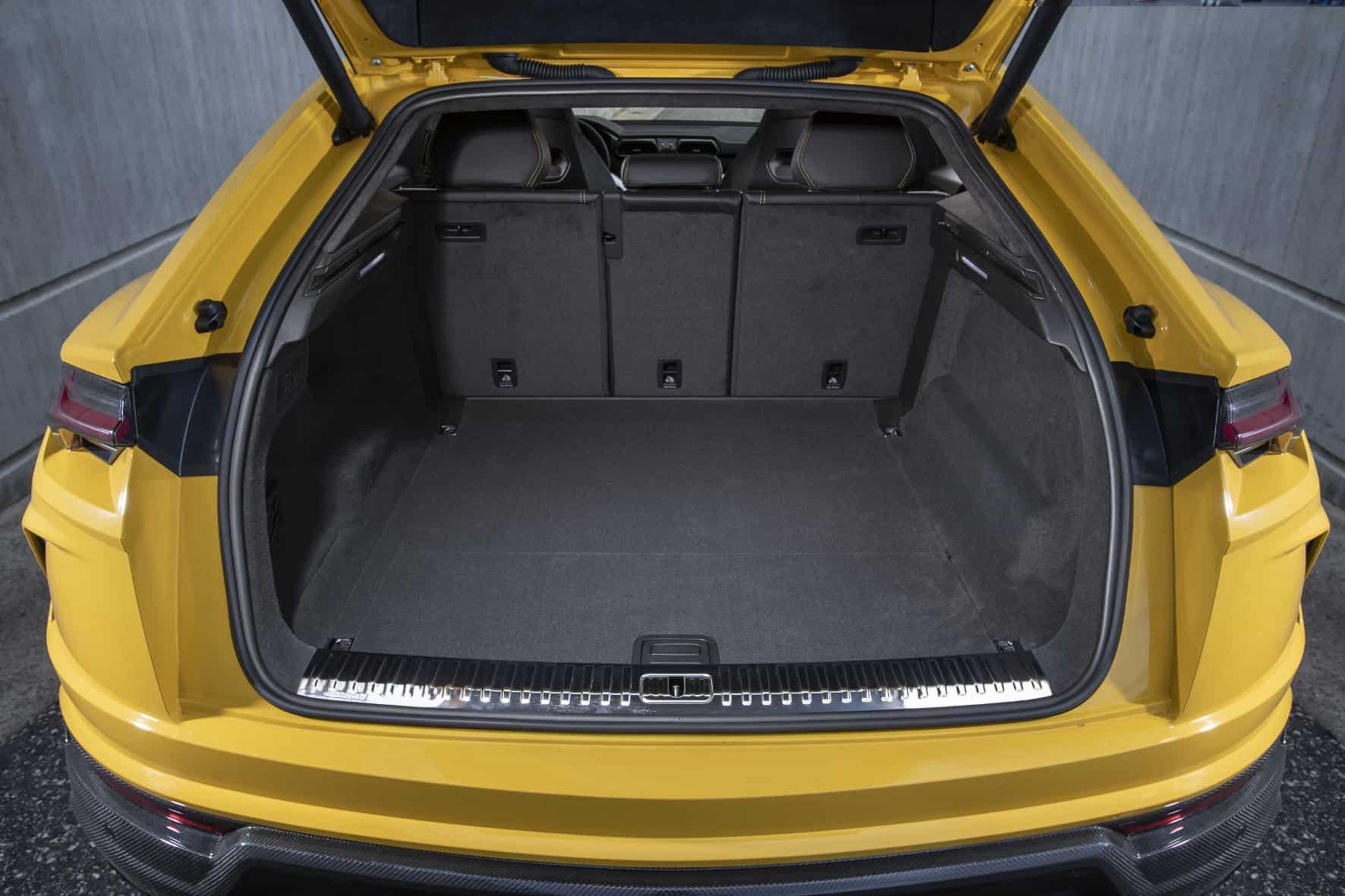 Lamborghini Urus, Kofferraum