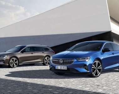 Opel Insignia Sports Tourer (l.) und Grand Sport.