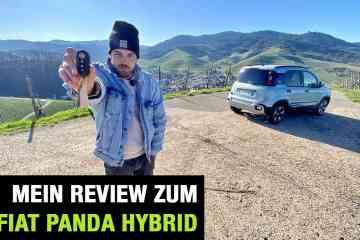 "Neuer Fiat Panda Hybrid ""Launch Edition"" (70 PS) - Testdrive im Video"