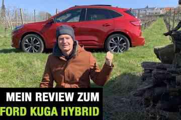 Neuer Ford Kuga 2.0 EcoBlue Hybrid (150 PS) - Fahrbericht im Video