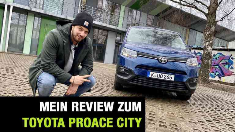 Neuer Toyota Proace City Kastenwagen (130 PS)