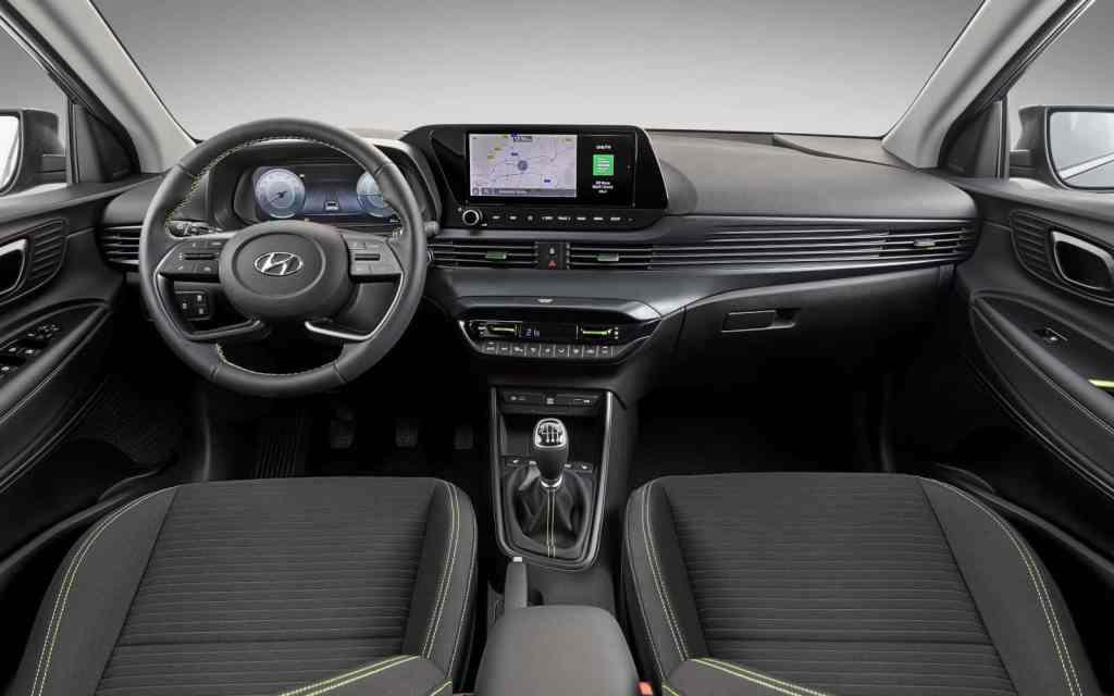 Hyundai i20, Armaturentafel