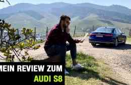 Audi S8 4.0 TFSI quattro, Jan Weizenecker