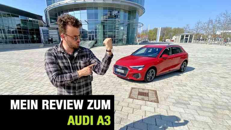 2020 Audi A3 Sportback S-Line (150 PS) - Fahrbericht im Video, Jan Weizenecker