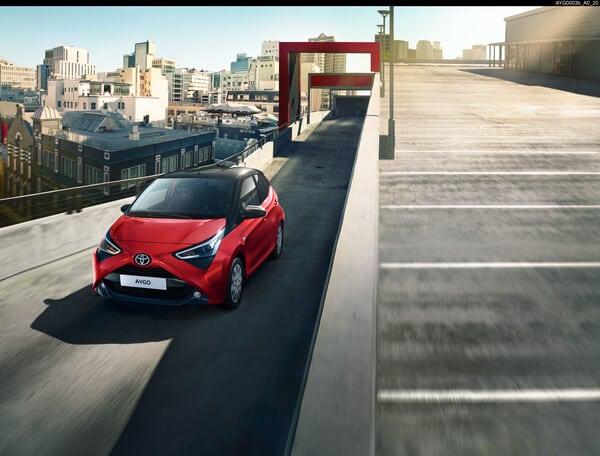 Neues Sondermodell Toyota Aygo x-JBL