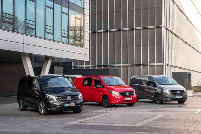 Mercedes-Benz Vito Tourer, Mixto und Kastenwagen.