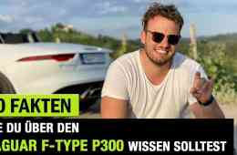 10 Fakten, die DU über DAS Jaguar F-Type P300 Cabrio (2020) wissen solltest! Fahrbericht | Review, Jan Weizenecker