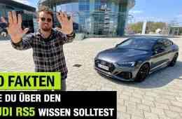 Der 10 Fakten-Clip zum Audi RS5 Facelift (2020)