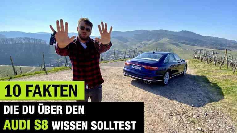 10 Fakten, die dich zum neuen Audi S8 (2020) interessieren könnten!, Jan Weizenecker
