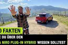 10 Fakten, die dich über den Kia Niro Plug-in Hybrid (2020) interessieren könnten!, Jan Weizenecker