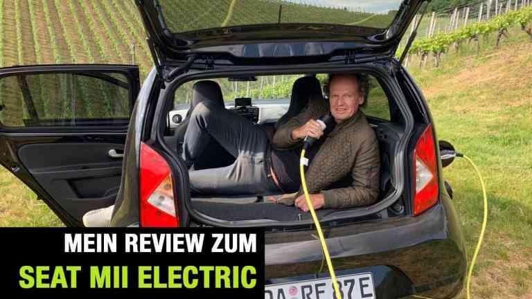Seat Mii electric, Dr Friedbert Weizenecker